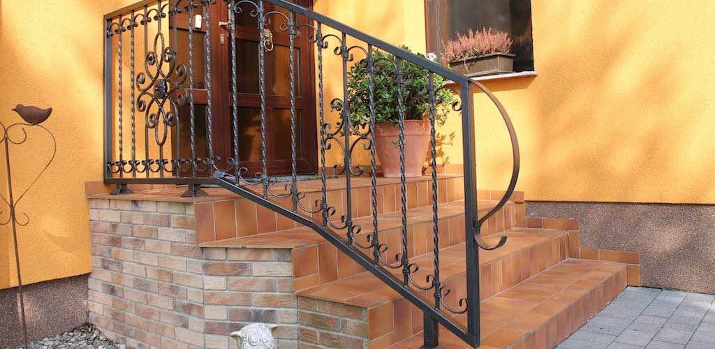 Schmiedeeisen-Geländer aus Polen - Treppengeländer